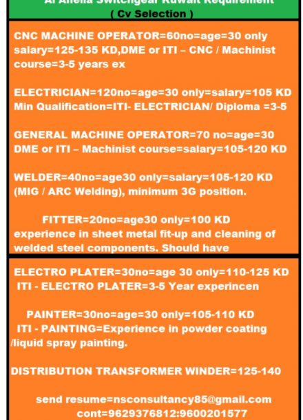 REQUIREMENT FOR AL AHELIA SWITCHGEAR