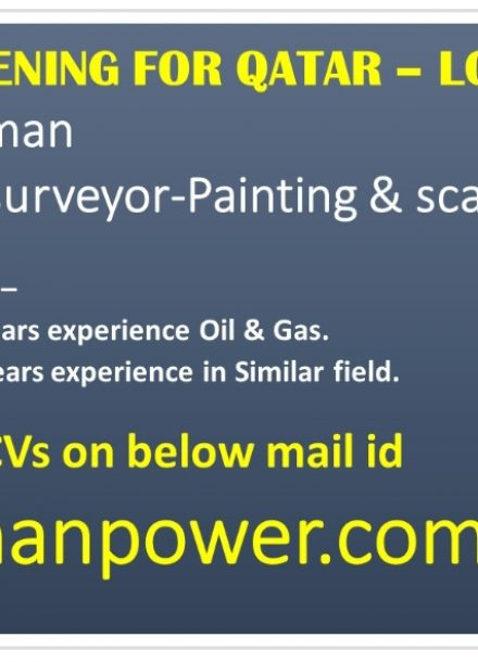 URGENTLY OPENING FOR LONG TERM