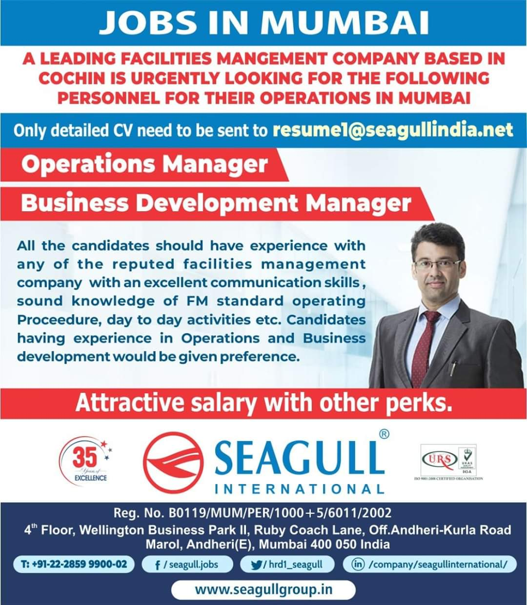 REQUIREMENT FOR A LEADING FACILITIES MANAGEMENT COMPANY