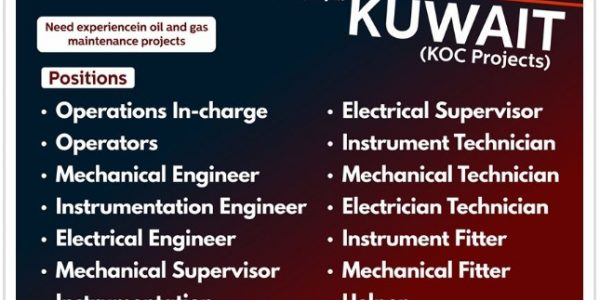 KUWAIT NEW JOB VACANCIES INTERVIEW
