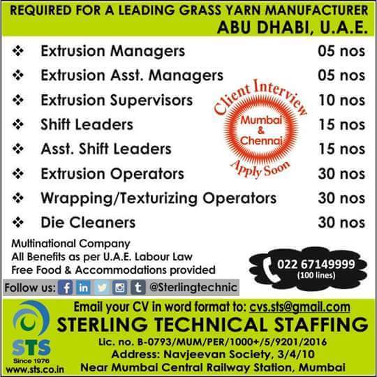 LEADING COMPANY JOBS IN UAE