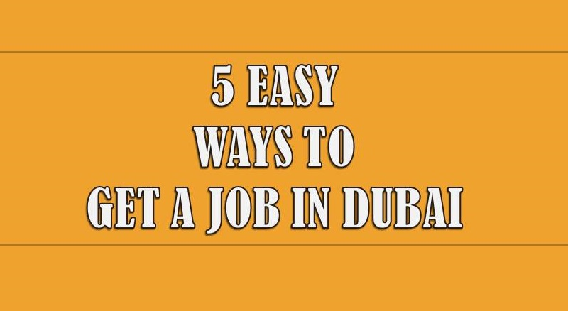 get a job in dubai