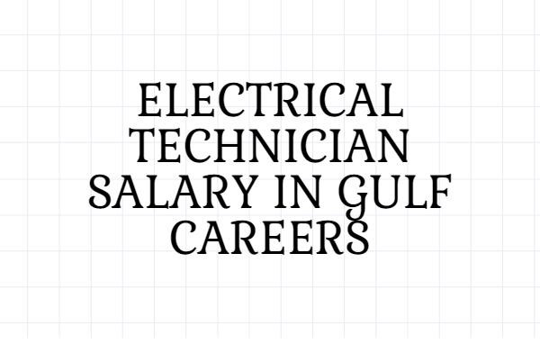 electrical technician salary