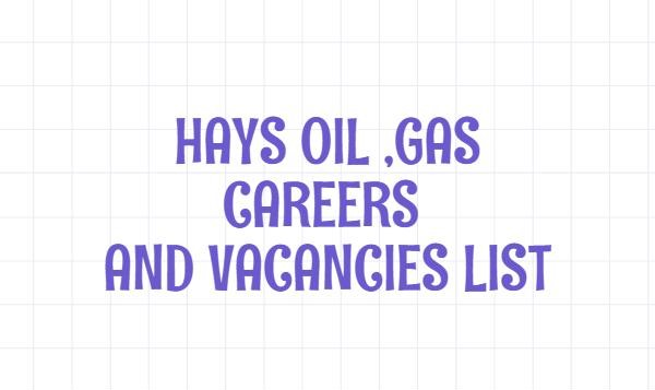 hays oil and gas