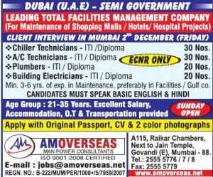 HIRING GOVERNMENT DUBAI JOBS 2016 -17