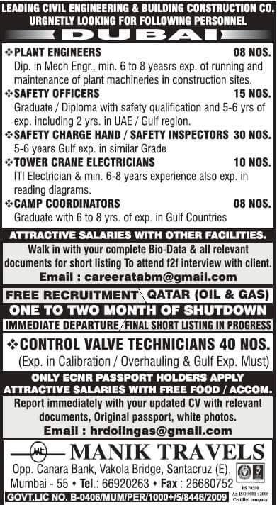 Naukri gulf Jobs in Dubai