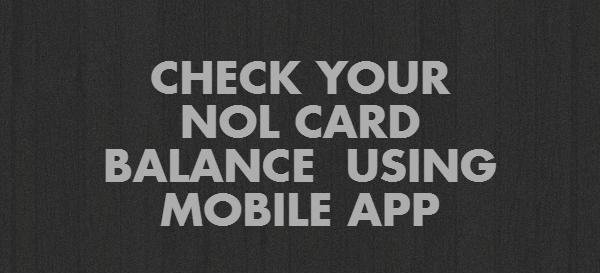 NOL CARD BALANCE
