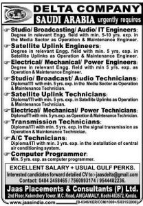 telecom jobs in hyderabad