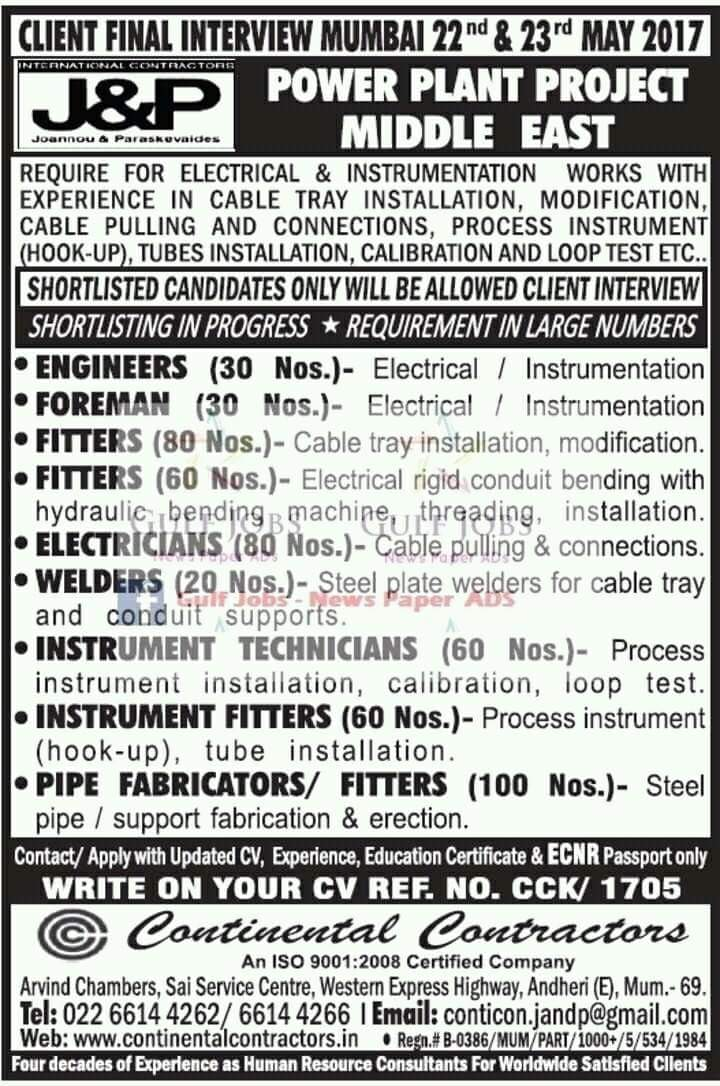 HIGH SALARY ENGINEERING GULF JOBS - JOBS AT GULF GULF JOB ...