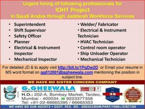 gheewala consultancy latest jobs