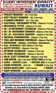 cv selection jobs in kuwait
