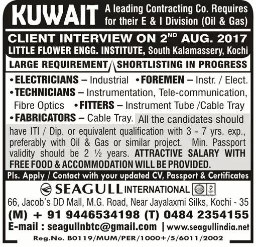 Cochin job interviews