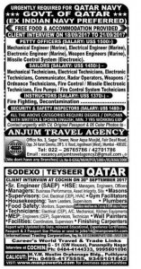 Gulf Jobs For Malayalees 2017