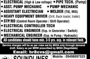ITI TECHNICIAN JOBS IN SAUDI