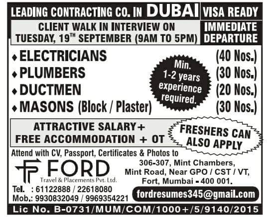 TODAY DUBIZZLE JOBS IN DUBAI