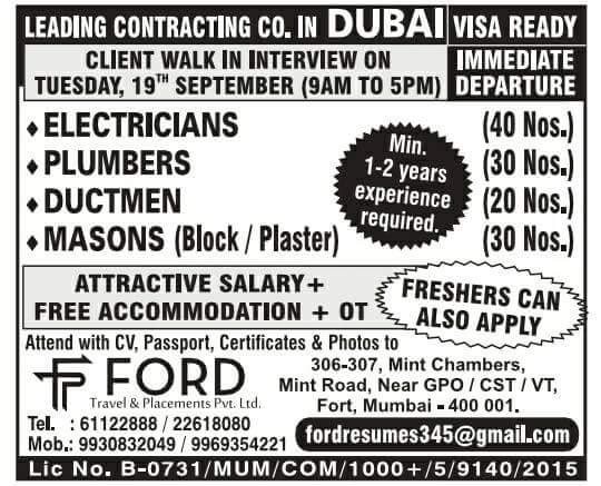 TODAY DUBIZZLE JOBS IN DUBAI