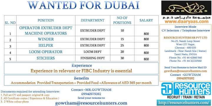 Dubai jobs
