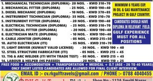 kuwait new vacancy
