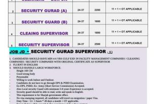 security jobs in MIDDLEAST