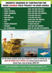 ARAMCO JOBS AT SAUDI ARABIA