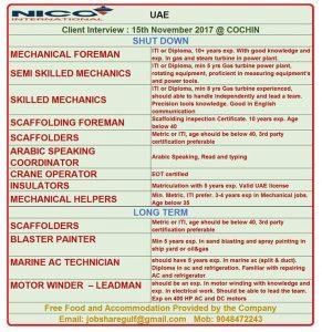 NPCC GULF JOB