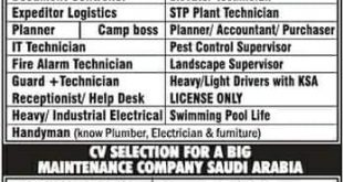 EXPATRIATES JOBS IN JEDDAH