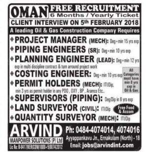 Oman Jobs Visa
