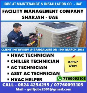 HVAC engineer salary and job vacancies hvac salary