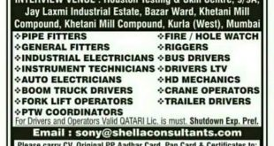 Gulf Jobs Interview in India