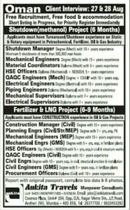 Jobs In Gulf Countries for Engineers  Indians   Freshers   Graduates   Operators   Drivers