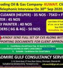 URGENTLY REQUIRED FOR A LEADING OIL & GAS COMPANY