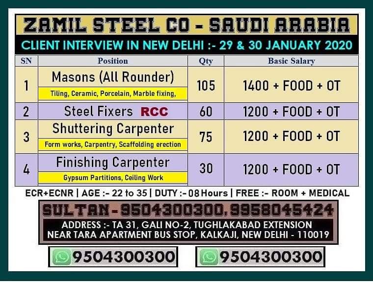 ZEMIL STEEL CO-SAUDI ARABIA
