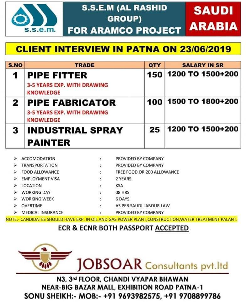 Company hiring 2019