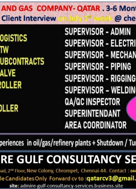 REQUIREMENT FOR A LEADING OIL AND GAS COMPANY