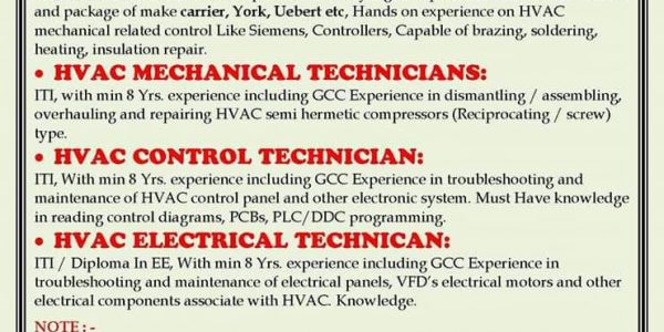 HVAC Engineer Salary in Dubai, Qatar