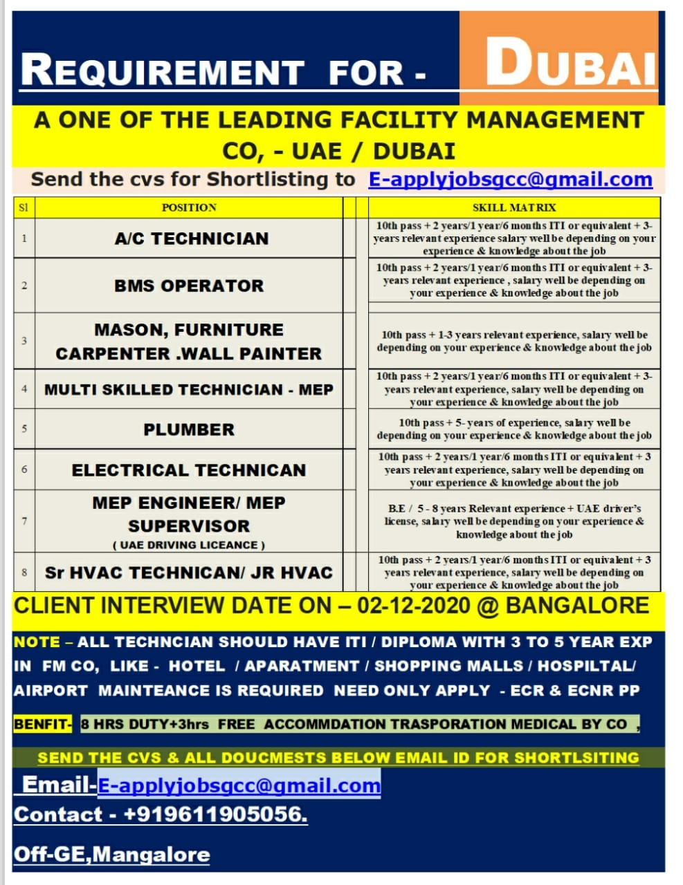 LEADING FACILITY MANAGEMENT CO-DUBAI