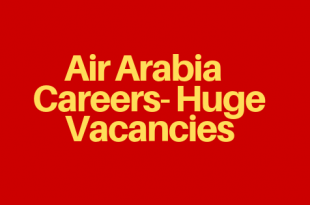 Air Arabia Job Vacancies