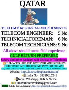Telecom jobs