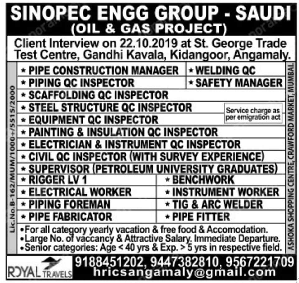 SINOPEC ENGG GROUP- SAUDI