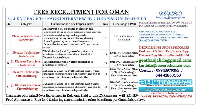Jobs At Gulf Walkin Interview For Gulf Jobs