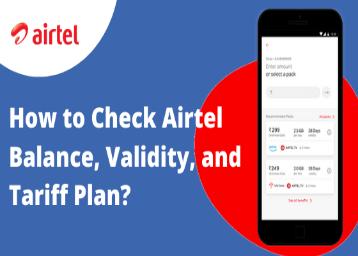 How to Check Airtel Balance & Validity