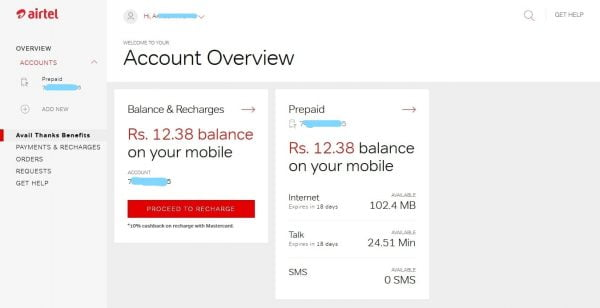 How to Check Airtel data Balance and Validity