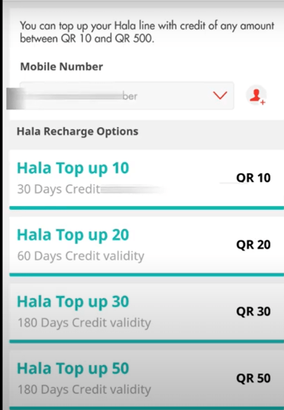 How to Topup and Recharge Ooredoo Qatar 2
