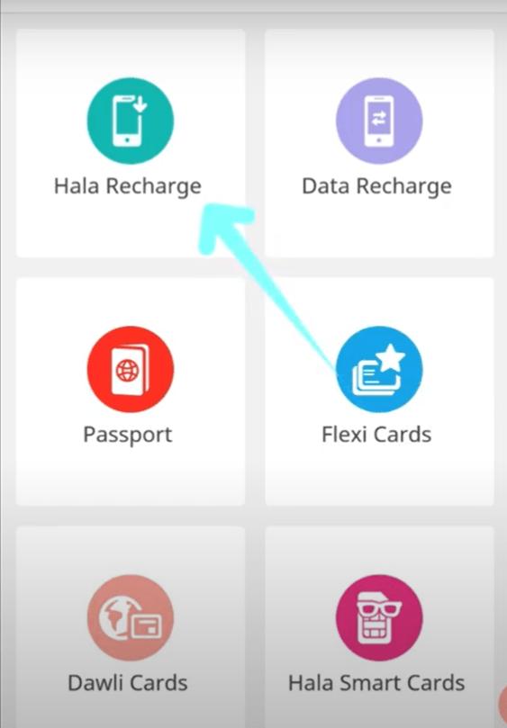 How to Topup or Recharge Hala online Mobile balance Ooredoo Qatar