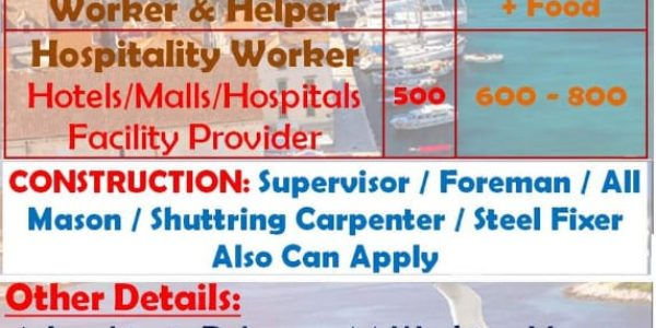 URGENTLY REQUIRED FOR LEADING COMPANY- CROATIA