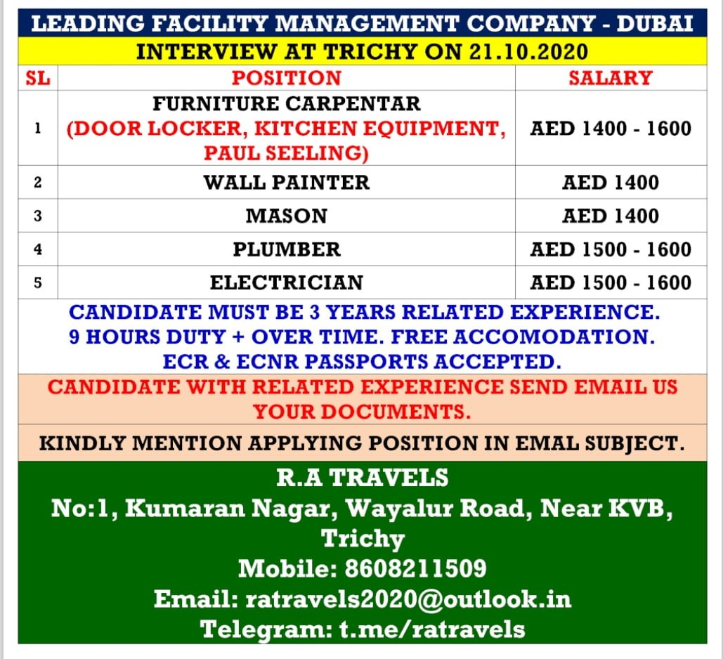 FACILITY MANAGEMENT COMPANY-DUBAI