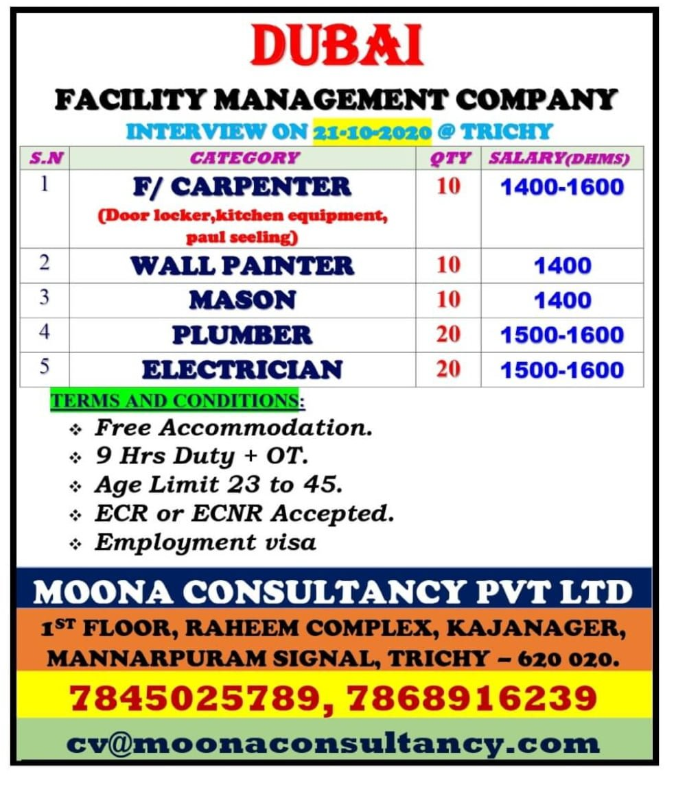 DUBAI FACILITY MANAGEMENT COMPANY