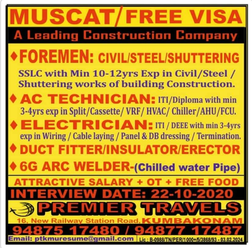 MUSCAT CONSTRUCTION COMPANY