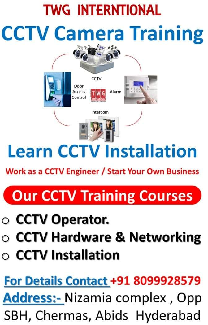 CCTV CAMERA TRAINING TWG INTERNATIONAL