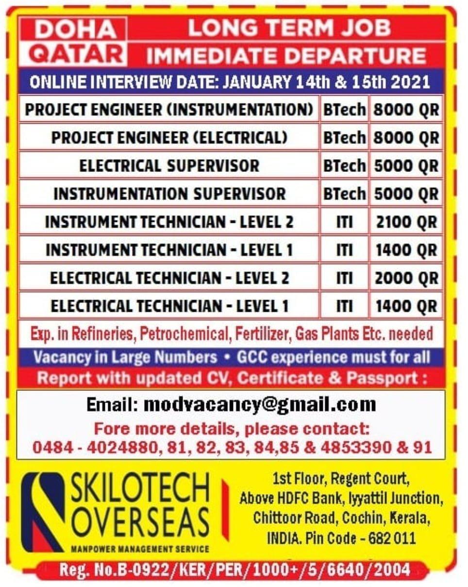 Jobs at Doha Qatar